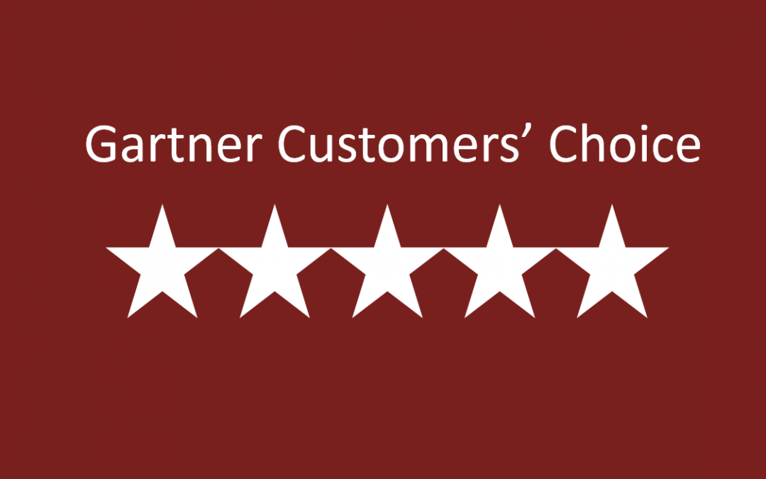 Certero Acknowledged As A January 2019 Gartner Peer Insights Customers' Choice for SAM Tools