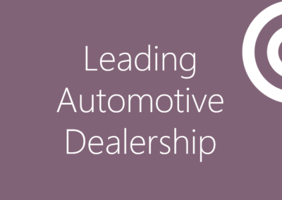 Leading Automotive Dealership