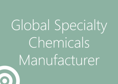 Global Specialty Chemicals Manufacturer