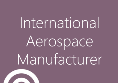 International Aerospace Manufacturer